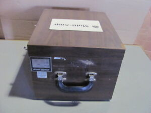 Oem Multi Amp Universal Protective Relay Tester Model Sr 76a