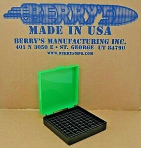 9 mm  380 - 100 round ammo case  box (ZOMBIE  BLACK) Berrys 9 mm BRAND NEW