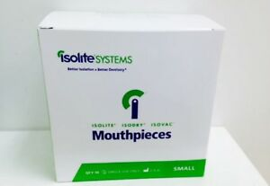 Isolation Dental Mouthpieces Small Sizes For Isolite Isodry Systems 10 pk