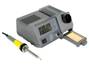Velleman Vtssc40nu Soldering Station With Lcd Ceramic Heater 48w 302 f 842 f