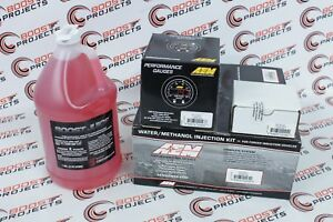 Aem Water Methanol Injection Kit Filter Wideband Uego Afr Gauge Boost Juice