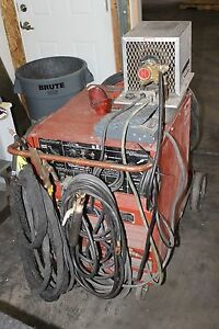 Lincoln Idealarc Tig 250 250 Tig Stick Welding Welder With Bernard Cooler