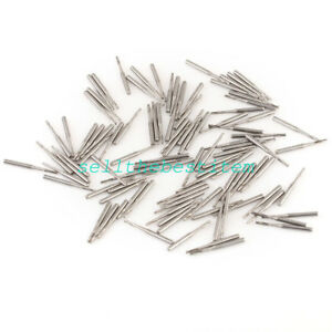 100 Dental Tungsten Carbide Steel Drills burs For High Speed Handpiece Fg556