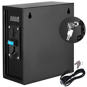 Coin Operated Timer Control Power Supply Box Electronic Device Usa Brand New