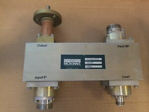 Connecticut Microwave 594 0009 Rf Hybrid 90 Combiner 7 16 4kw Transmitter 989n