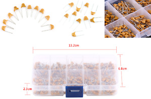 0 1uf 10uf 50v Ceramic Capacitor Assorted Kit 500pcs 10 Value