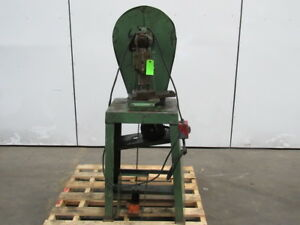 Klaas The Emco w Punch Press 3 3 4 Throat 3 4 Stroke Mechanical Foot Trip