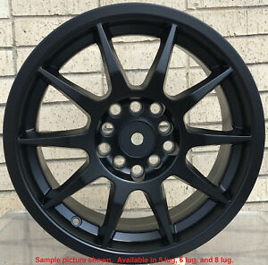 4 New 17 Wheels Rims For Chevy Bel Air Biscayne Blazer S10 2wd 4wd Camaro 34015