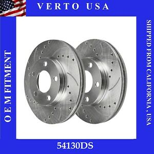 Front Brake Rotors For Ford Mustang 6 Cylinders 2005 2006 2007 2008 2009 2010
