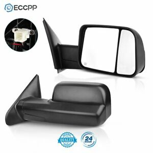 updated Style For 02 08 Dodge Ram 1500 03 09 2500 3500 Power heated Mirrors