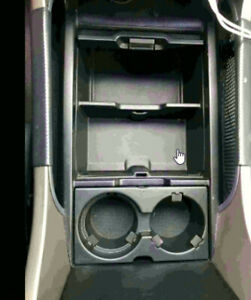 Center Console Cup Holder Insert Assembly For Honda Pilot Element Brand New