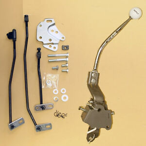 Hurst 1969 Camaro Small Block Z28 Ss Rs 4 Speed Shifter Kit W Round Bar Handle