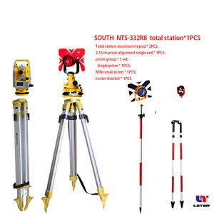 New South Nts 332r8 Total Station Set South Reflectorless 800m Total Station