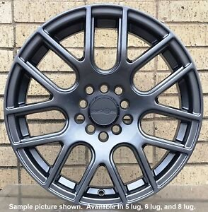 4 New 17 Wheels Rims For Jeep Cherokee Renegade Latitude Trailhawk Sport 38002
