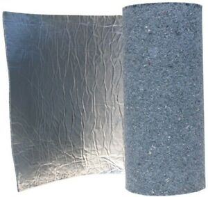 Radiant Barrier Thermal Acoustic Insulation 48 In X 75 Ft Natural Cotton Roll