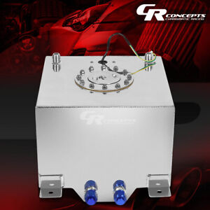 8 Gallon 30 5l Lightweight Polished Aluminum Gas Fuel Cell Tank Level Sender