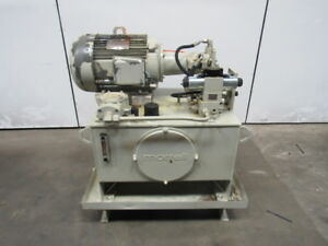 Morrell Hydraulic Power Unit 15hp 40 Gal 230 460v A10vso18dr 31r Pump