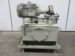 Morrell 15hp Hydraulic Power Unit 40 Gal 230 460v A10vso18dr 31r Pump