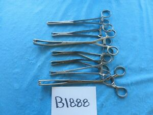 Codman Padgett Sklar Surgical Orthopedic Forceps Lot Of 7