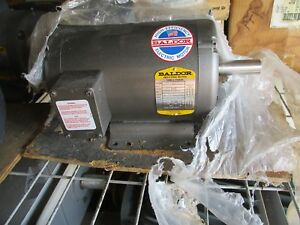 Baldor M3219t 7 1 2 Hp 3 Phase 3450 Rpm Electric Motor New