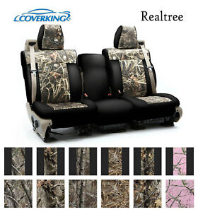 Coverking Custom Front Row Seat Covers Neosupreme Realtree Camo Choose Color