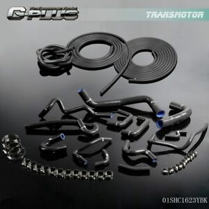 Silicone Radiator Vacuum Hose Kit For Nissan Skyline R33 Gts 25t Gts Rb25de