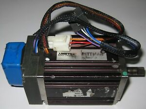 Pittman Brushless Dc Servo Motor 66 4 Mv r s Heds 200 Cpr Encoder 5262c108