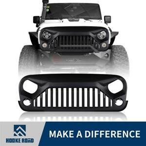 Upgrade Angry Bird Front Matte Grill Grille For 07 18 Jeep Wrangler Jk