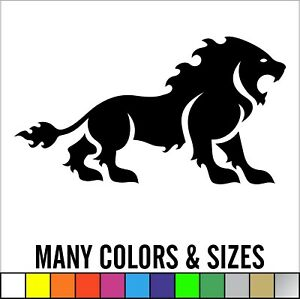Lion Cat King Of Jungle Car Window Decal Laptop Sticker Sizes And Colors