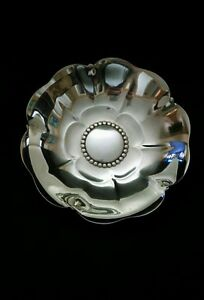 Tiffany Sterling Silver Lotus Flower Candy Bowl 5 1 8 153 Grams