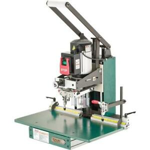 G0718 Grizzly Hinge Boring Machine