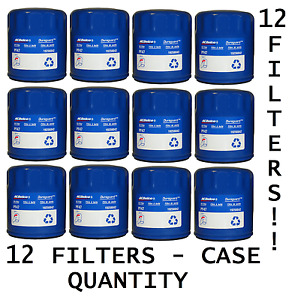 New Case Of Engine Oil Filter Acdelco Pro Pf47 12 Pf47f Pf47e 19256042