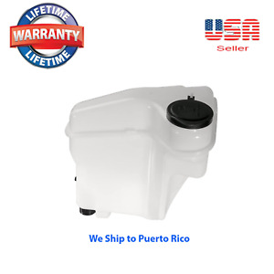 Windshield Washer Fluid Reservoir W Pump Fits Prizm Corolla 1998 2002 L4 1 8l