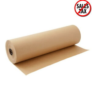 Paper Sheet Roll 30x2400 Packaging Wrap Commercial Shipping Mailing Brown New
