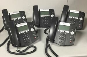 Polycom Soundpoint Ip 450 Sip Phone 5 Pack