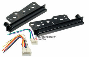 2 Din Car Stereo Radio Dash Kit Installation Mounting Trim W Wiring Harness