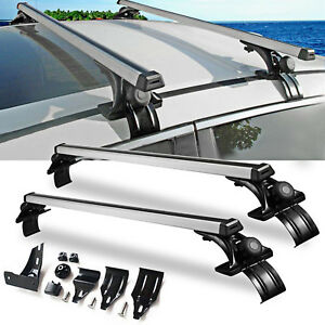 Universal Car Top Roof Cross Bar Luggage Cargo Carrier Rack Suv W 3 Kinds Clamp