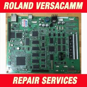 Roland Versacamm Versauv Main Board Vs 300i 540i 640i Vp Rs Re 540 640 Repair