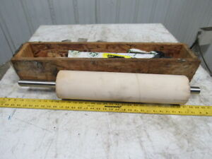 Kofab Custom Conveyor Belt Roller Lagging 4 69 x18 00 4 483 X 4 69 X 20