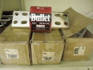 Edison Bussman Bullet Lcl2500 Class L Fuses 2500a 600v set Of 3 New In Box