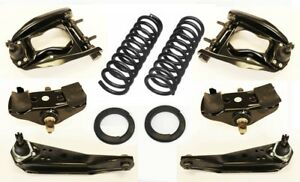 65 66 Mustang 8 Cyl Suspension Kit Upper Lower Control Arms Coil Springs Saddles
