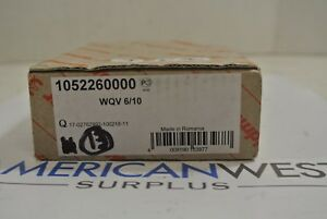 Weidmuller 10 Way Terminal Block Jumper Model 1052260000 Wqv 6 10 Box Of 13 New