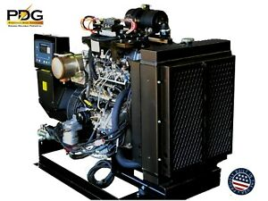 Isuzu 25 Kw Diesel Generator Epa Tier 4 Final For Mobile Or Stationary Use