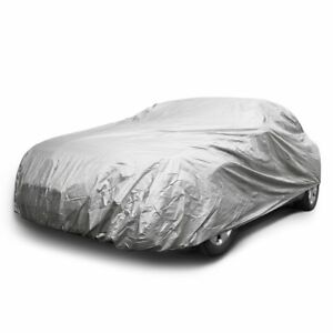 Car Cover All Weather Protection Outdoor Uv Light Water Resistant Universal Fit