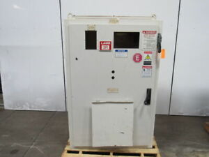 Jic Electrical Enclosure Cabinet 59 x39 x20 W 60a Disconnect Back Plate