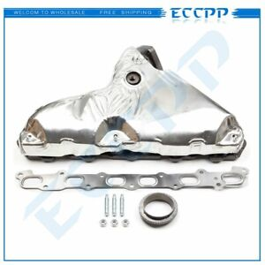 Exhaust Manifold Set For 02 05 Chevrolet Trailblazer 2002 05 Gmc Envoy 6cyl 4 2l