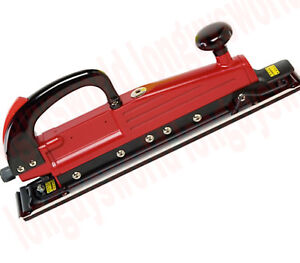 Auto Body Air Power Twin Piston Straight In Line File Sander Tool 2 3 4 X 17 1 2