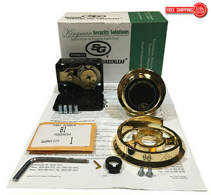 S g Sargent And Greenleaf 6730 102g Group 2 Spy Proof Dial Lock Kit Gold
