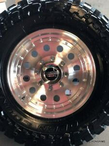 16x8 Outlaw 2 Wheel American Racing 8 On 170m Fit Ford 99 04 F250 F350 8x170m