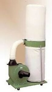 Wood Work Shop Dust Collector 2hp Motor Filter Bag Garage Air Cleaner New